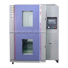 2 zones thermal shock test chamber for Product quality inspection