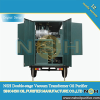 NSH VFD 4000LPH Filter Waste Insulating Oil Recovery System