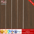 China factory supply Dark brown rustic wooden ceramic tile for shop