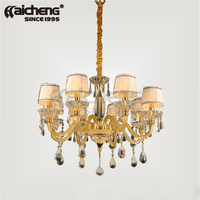 modern crystal chandeliers for bedroom