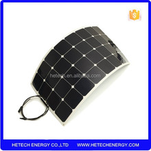 high efficiency flexible solar panel 120w import from China