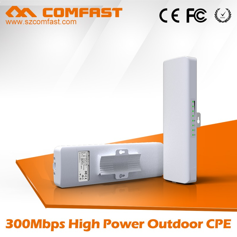 2016 COMFAST CF-E314N 300Mbps 3-5km Point to Point Wireless Bridge