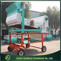 Mobile complete sets of rice cleaning machine
