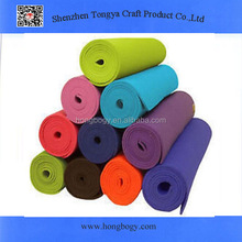 Manufacturer thin rubber yoga mats