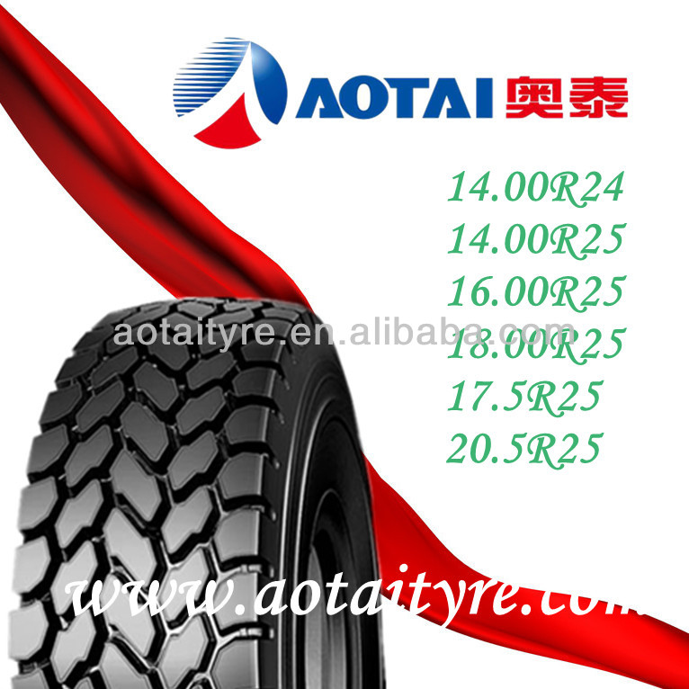 All Terrain Mobile Cranes Tires 20.5R25 (525/80R25)