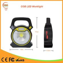 2 Years Warranty 5W COB 18650 Lithium Battery Powered Portable handheld Rechargeable Emergency LED Light