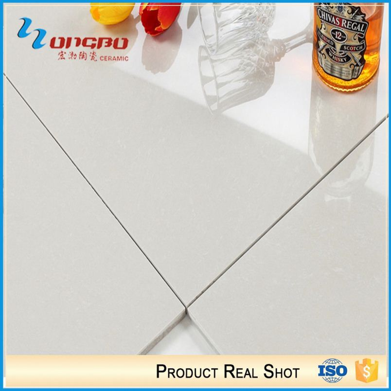 White quartz floor tiles