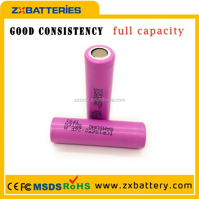 Factory price ICR 3.7V Samsung 18650 2600mah li ion battery for samsung galaxy note gt-n7000/i9220
