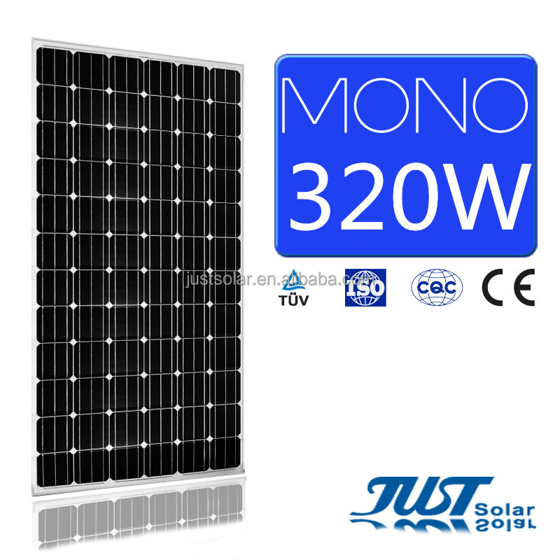 320W monocrystalline solar panels solar pv modules