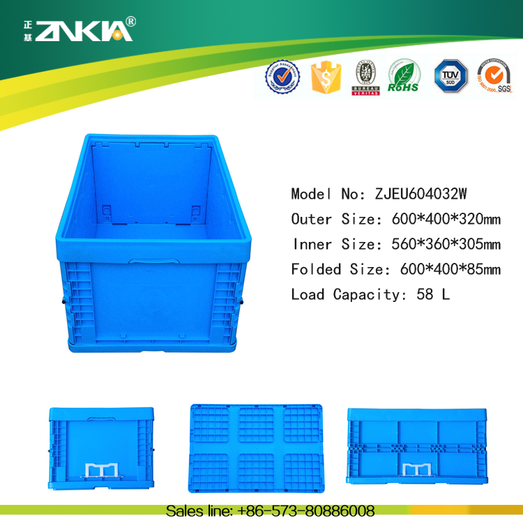 Heavy Duty Beer Bottle Plastic Crates, Stacking Crates, Folding Crates