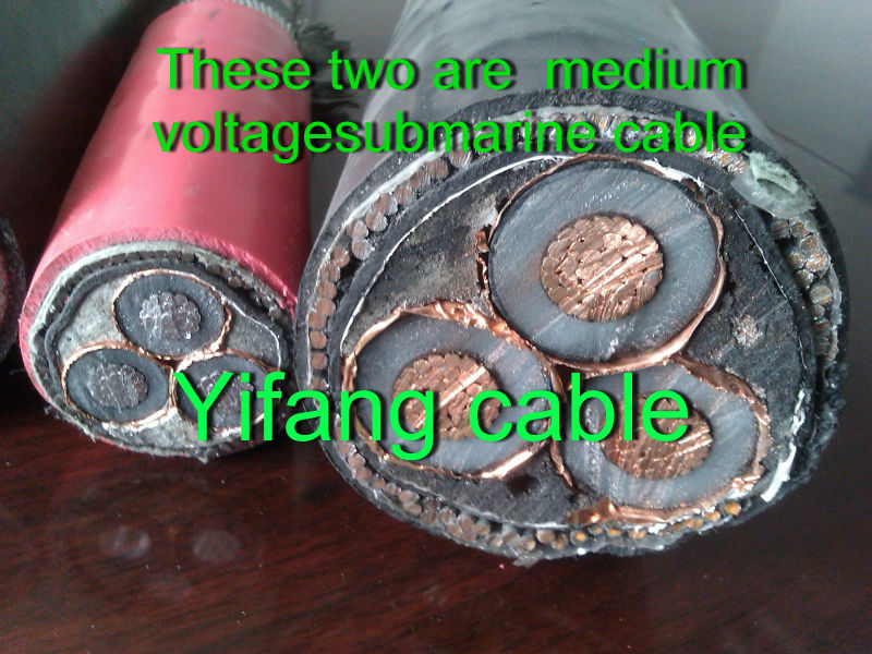 CU/XLPE/PVC/SWA/PVC 12/20kV 1*240 sq mm medium voltage Power cable