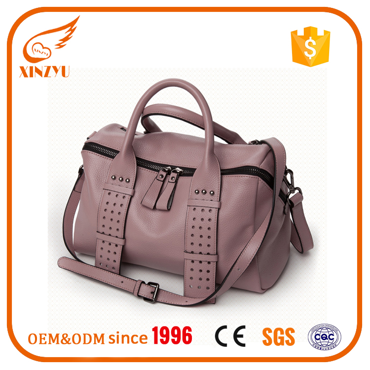 100% genuine leather women wholesale handbags