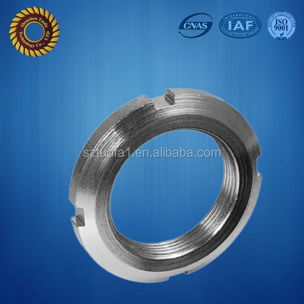 stainless steel cnc precision bearing locking ring