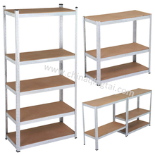 Light duty metal 5 layers grocery store display shelf