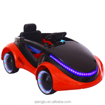 New outdoor battery operated toy car for children kids to drive with cool light design