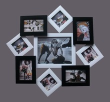 Pictures wall hanging PS/MDF photo frames/ Differenr types photo frame
