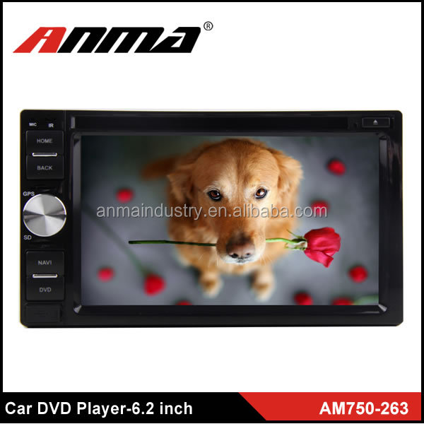 ANMA high quality 6.2 inch Car DVD Player / android car dvd player