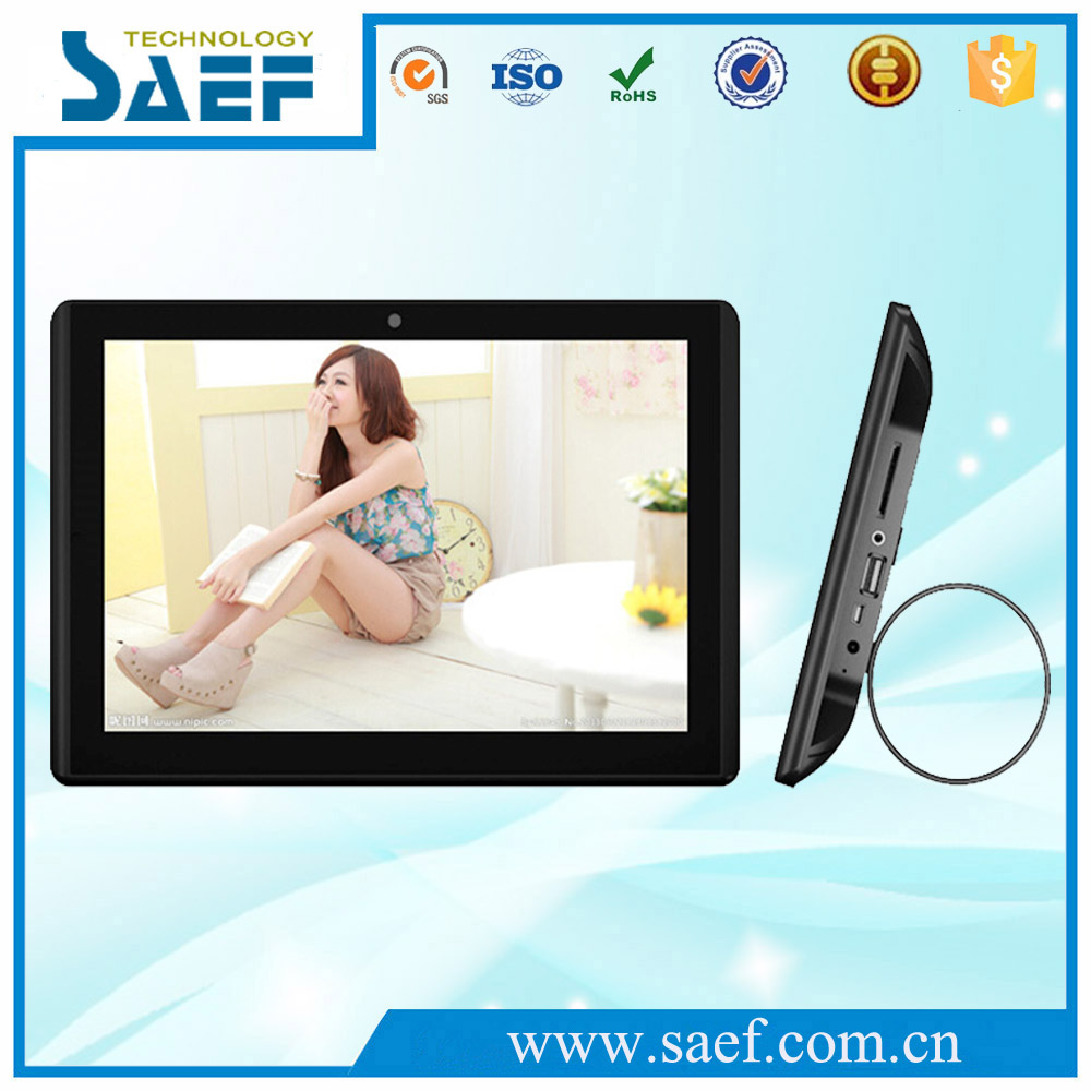 10.1 inch 1280*800 ips screen wall mount tablet pc touch screen built-in RJ-45 interface for wireless order for dishes