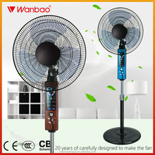 CE CB High Speed 1310 rpm Indoor Used electric 16 inch stand fan with remote