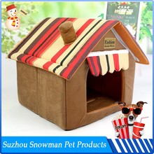 Factory Direct Sale Cheap Plush insulated wood dog house
