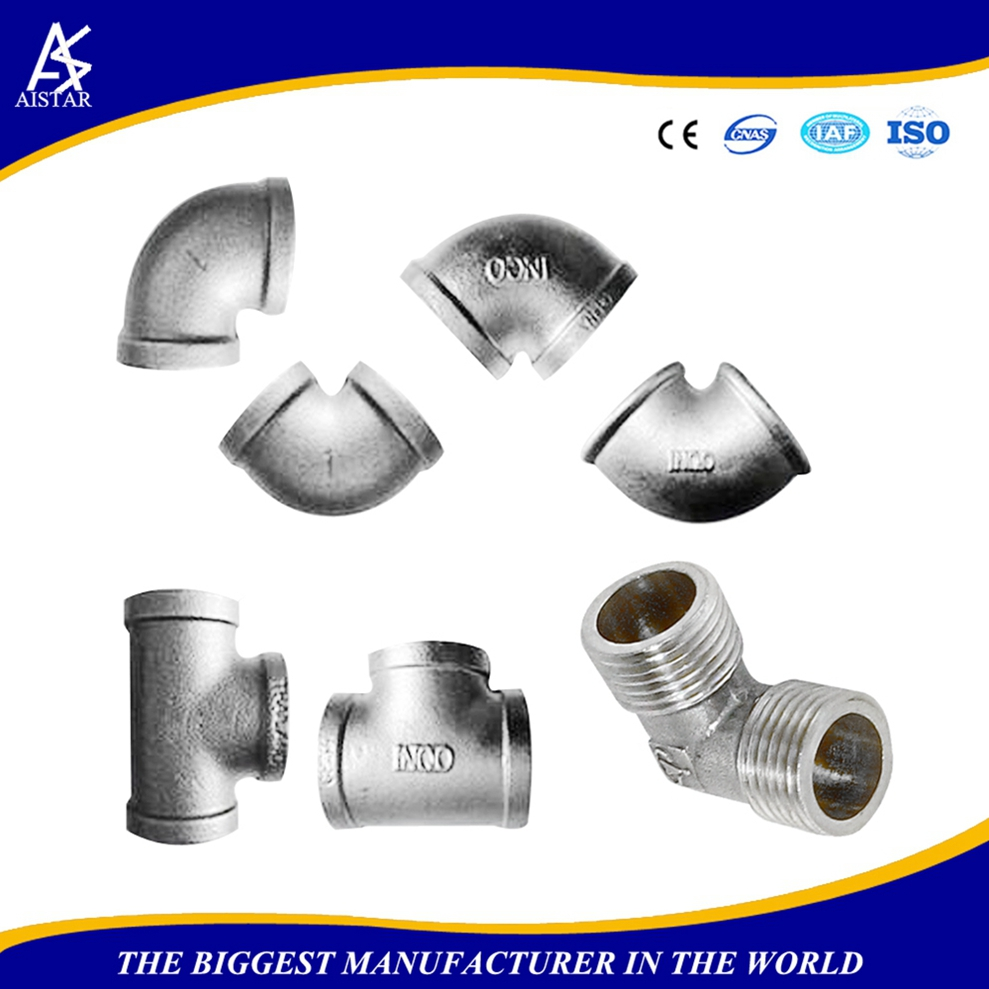 HOT sale oil standard durable rotating names pipe fittings