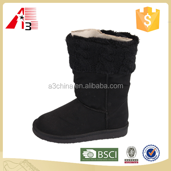 2016 winter sheep wool snow boot for girls
