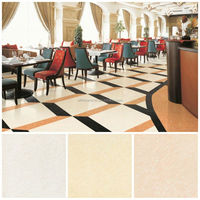 Eiffel marble mosaic tiles on mesh for wall
