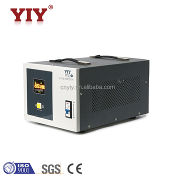 single phase relay type automatic voltage regulator / stabilizer