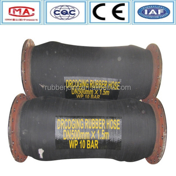 Flexible floating dredging pipe/EPDM rubber <strong>hose</strong>