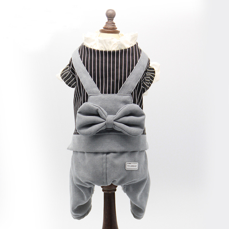 Factory supply 100% cotton winter pet coat Japan and South Korea's best-selling dog clothes