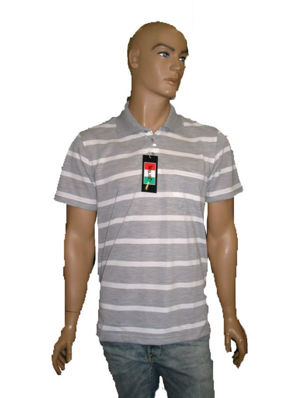 Striped Polo T-Shirts