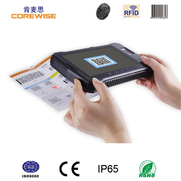 android quad core fingerprint barcode android rfid tablet