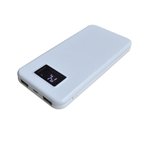 10000mAh big LCD screen Power Bank, LCD Emergency Bulk Power Bank Supply 8000mAh