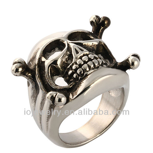 steel dark power ring