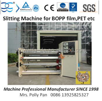 1300mm Sitting Machine for BOPP film,PET