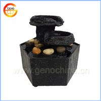 polyresin mushroom water fountain