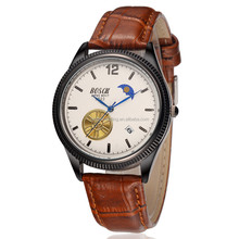 brown leather watches company antique quartz watch quartz advance watch