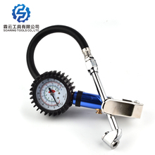 Latest product 3-in-1 different color metal plating dail pressure gauge tyre gun