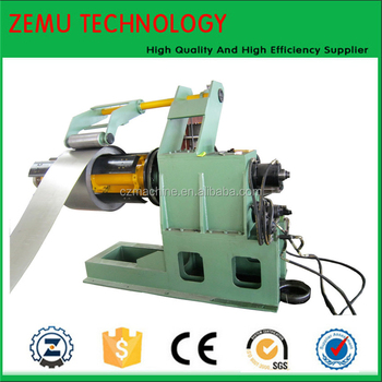 Automatic Radiator Steel Plate Decoiler Machine