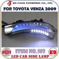Body kit FOR TOYOTA MARK X GRX130 LED CAR SIDE LAMP LIGHT Guide Lamp