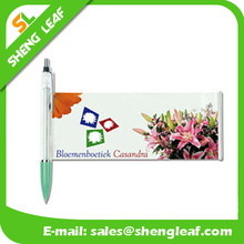 Flag ad pens with company profile pens logo printed ballpens