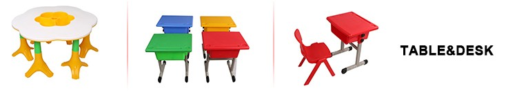 High quality cheap colorful easily assembled study plastic tables chair sets
