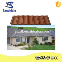 Eco-friendly stone roof tiles types of roofing covering