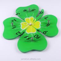 Luxury Glass wall clock bright