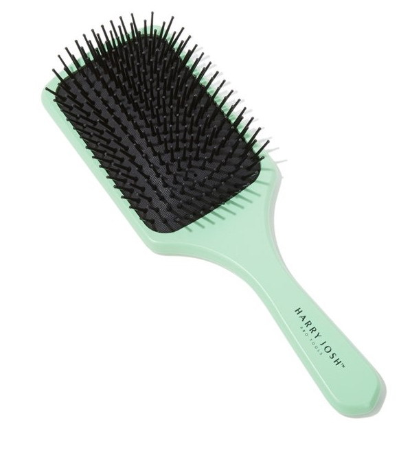 turquoise brush Hair Brush