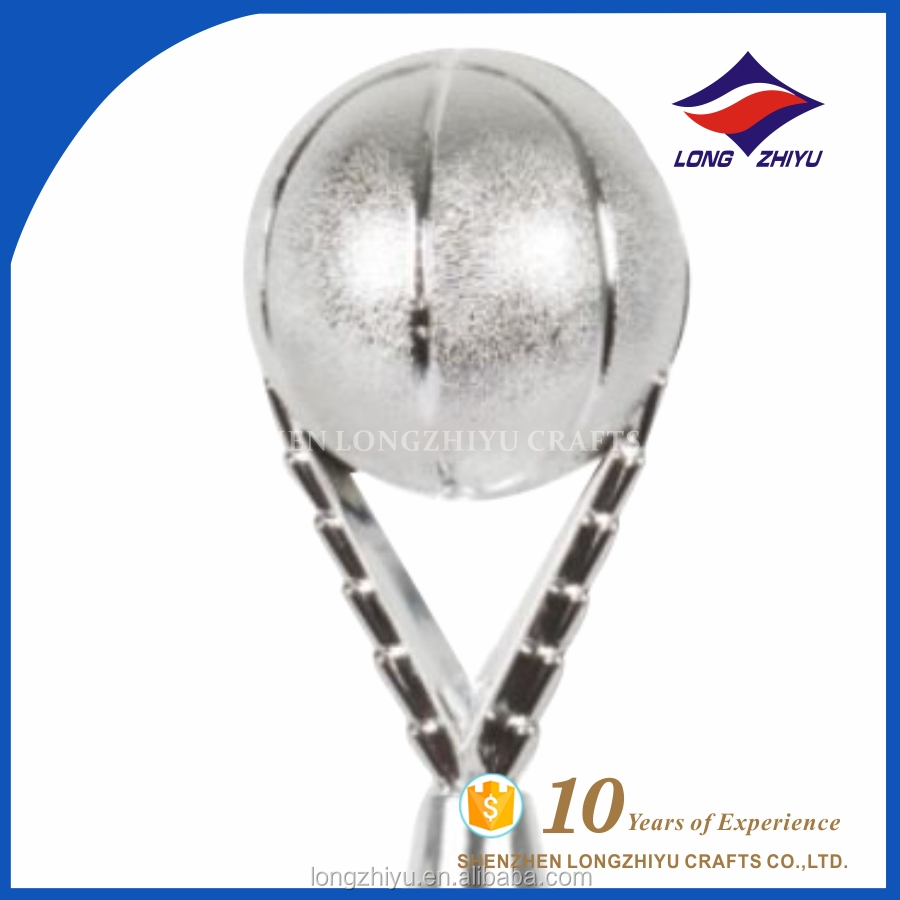 Chinese supplier carp lucky metal crafts and trophy