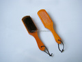 Beautiful cleaning soft bristle hair brush