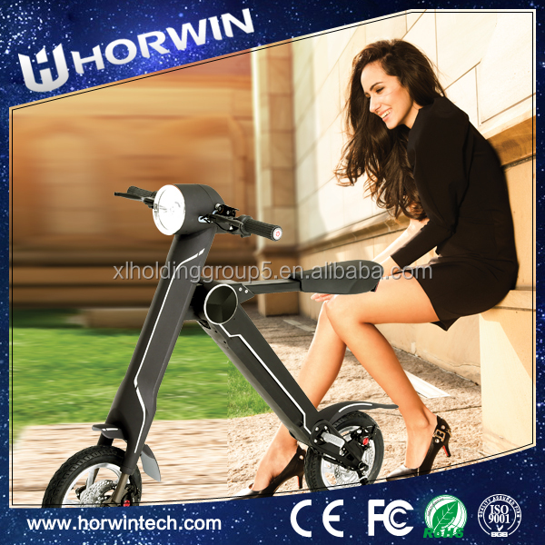 Battery Powered electric Folding trial order motorcycle from Horwin