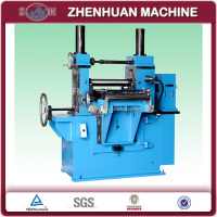 Compact stainless steel sheet slitting machine for 400mm wide max. 570kg coils