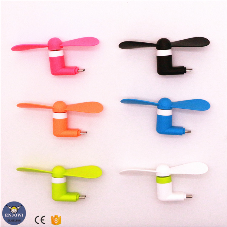 2017 hot selling portable micro usb fan <strong>mini</strong> for android phone